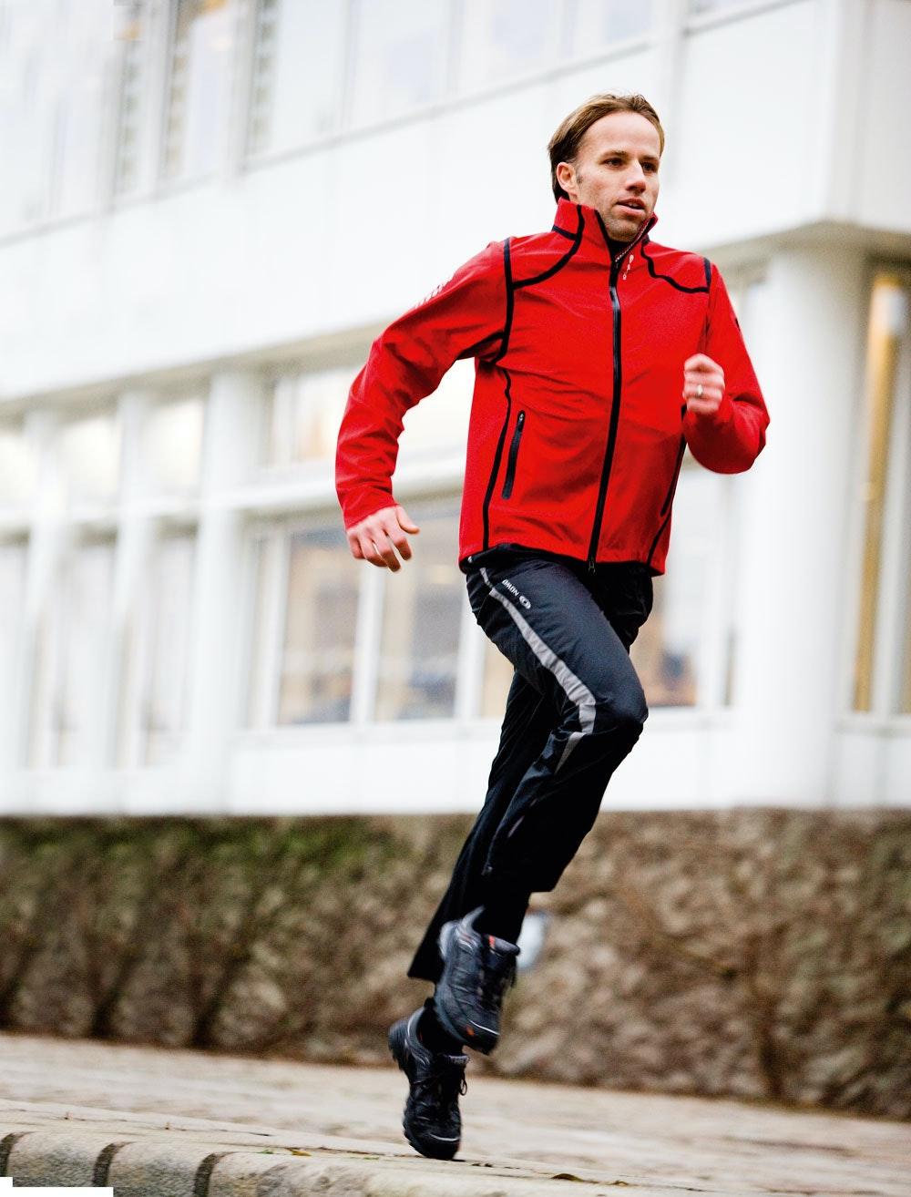 ont i kroppen efter träning