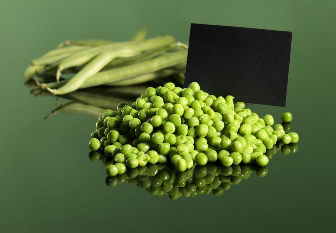 gröna ärtor näringsinnehåll