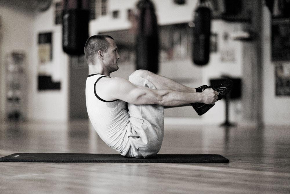 trene bort magefett fort
