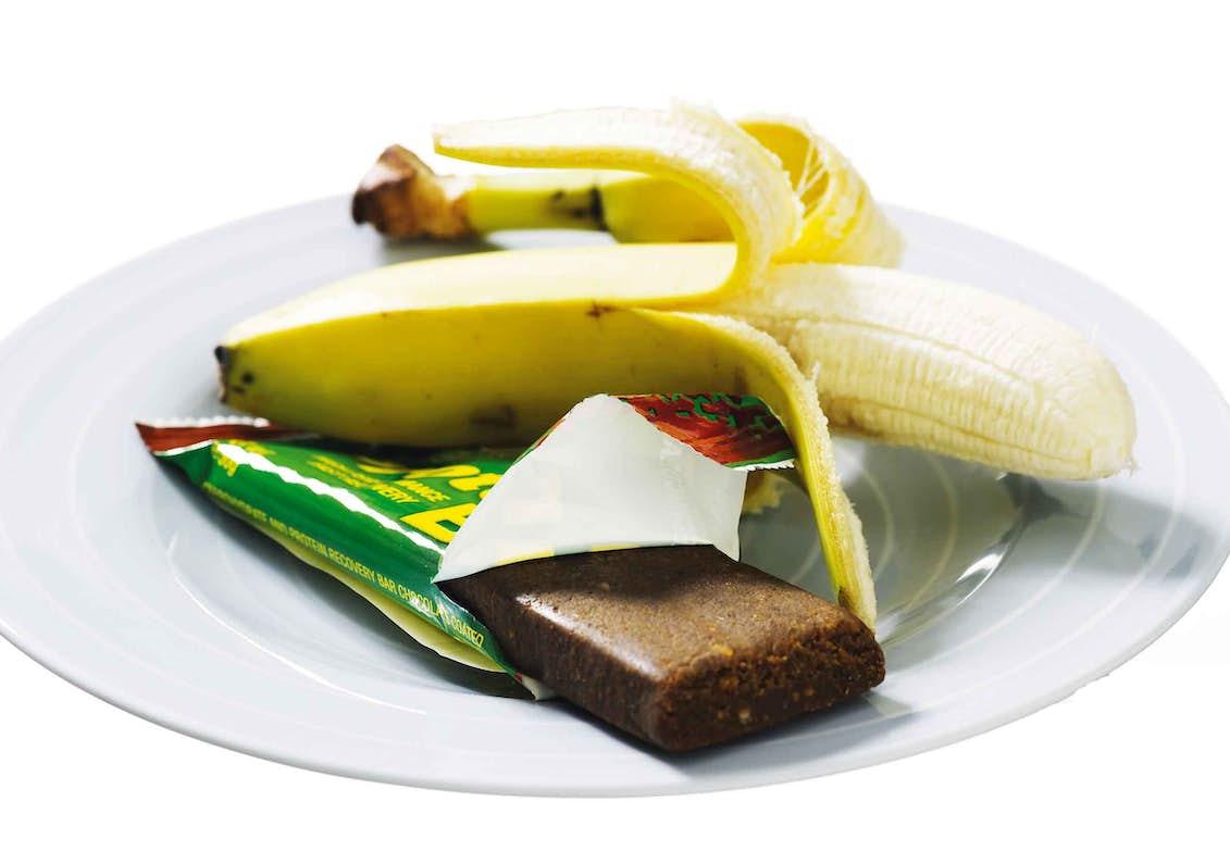 hur mycket protein i en banan