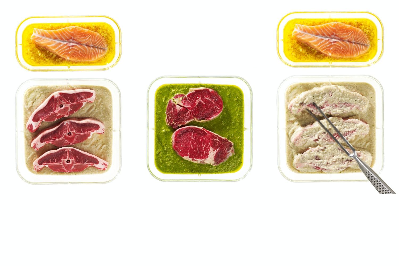 marinade der mørner kød