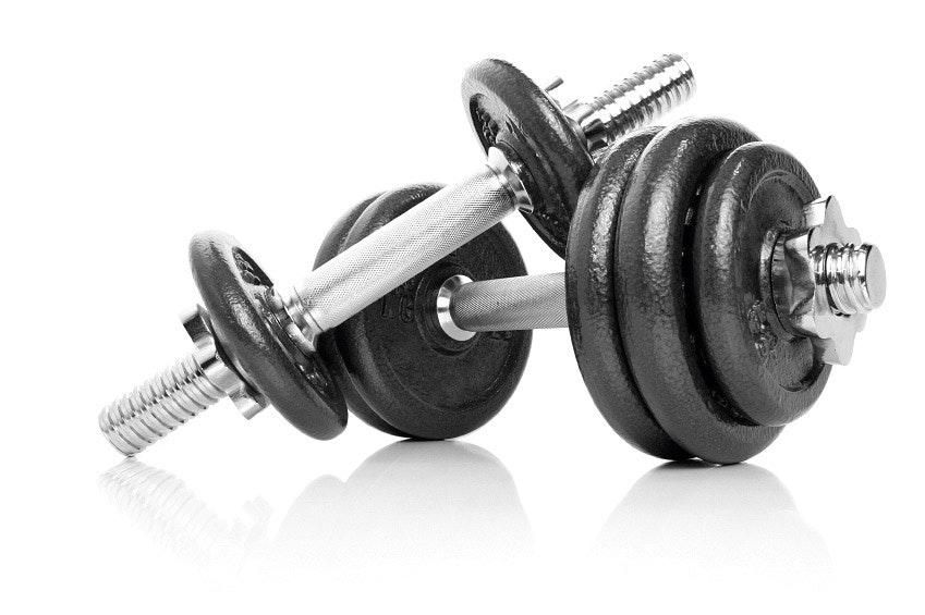 styrketræning hjemme med håndvægte