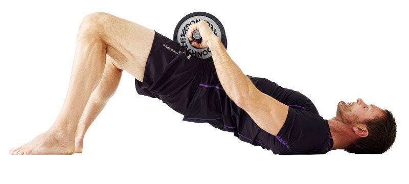 styrketräning med hantlar