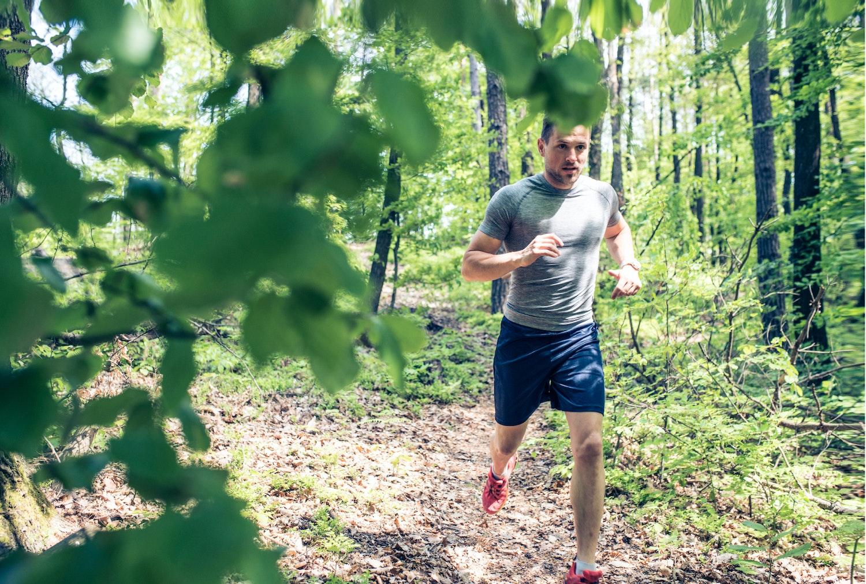 taber man sig af at løbe