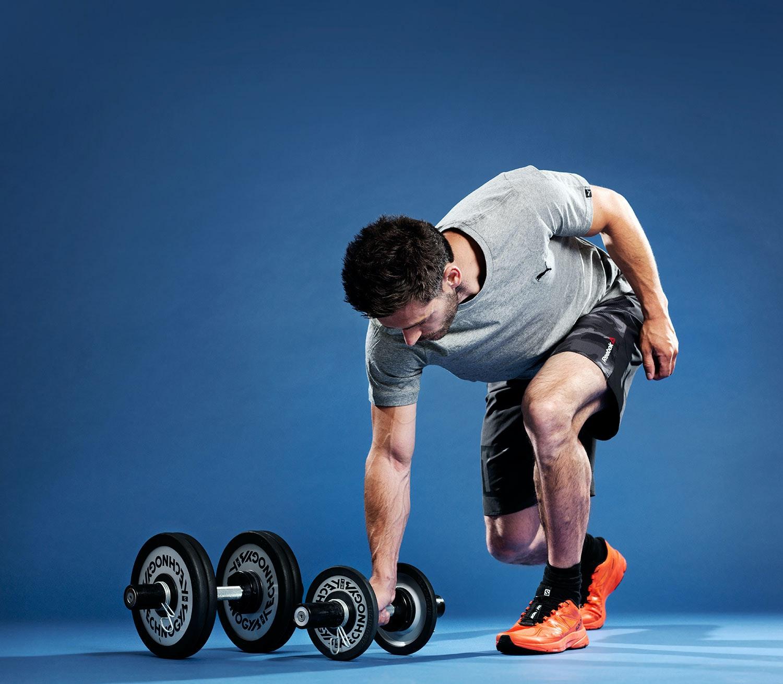 träna med lätta vikter