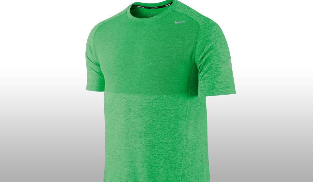 Nike Flyknit Tee Løbe T shirt Anmeldelse   Aktiv Træning