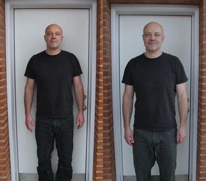 lchf vægttab resultater