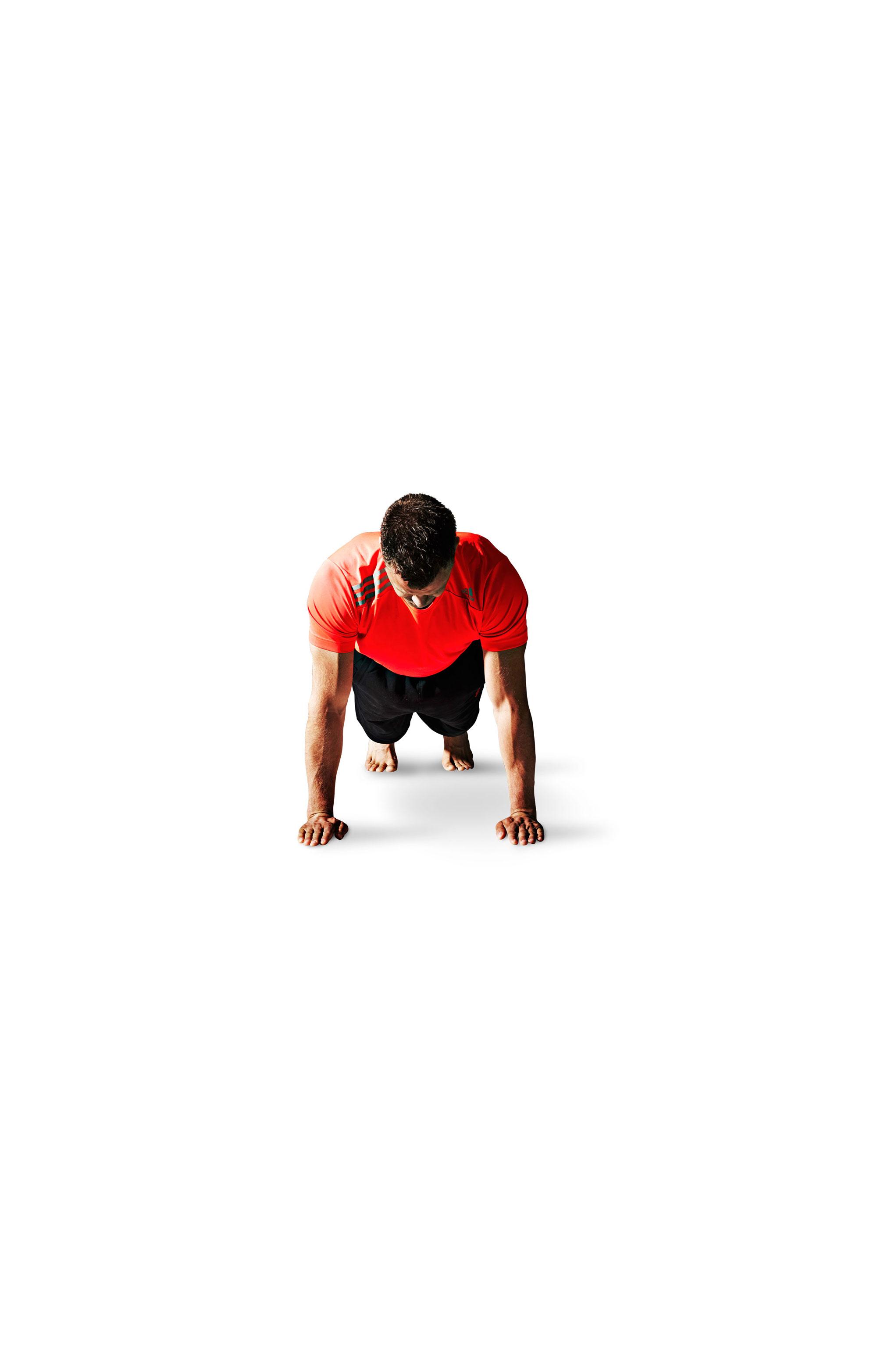 Push-ups og push-ups med karklude - videoøvelser | Aktiv Træning