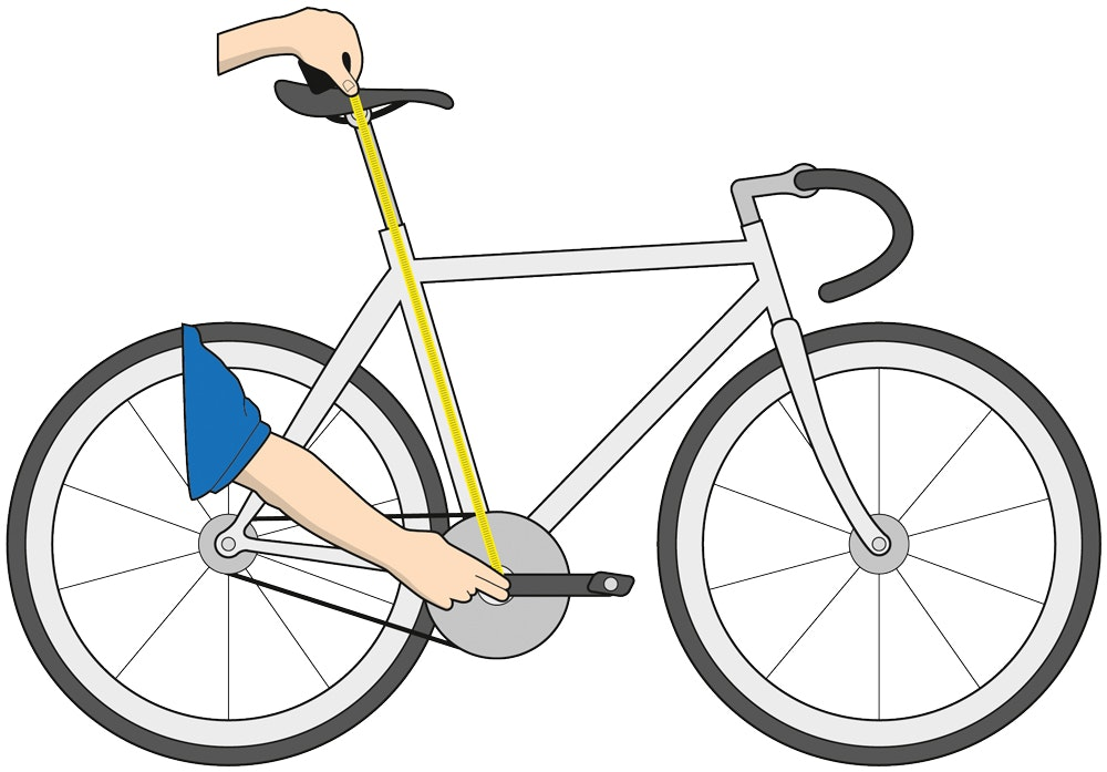 ställa in cykel