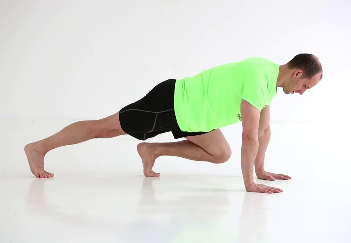träna lår och mage