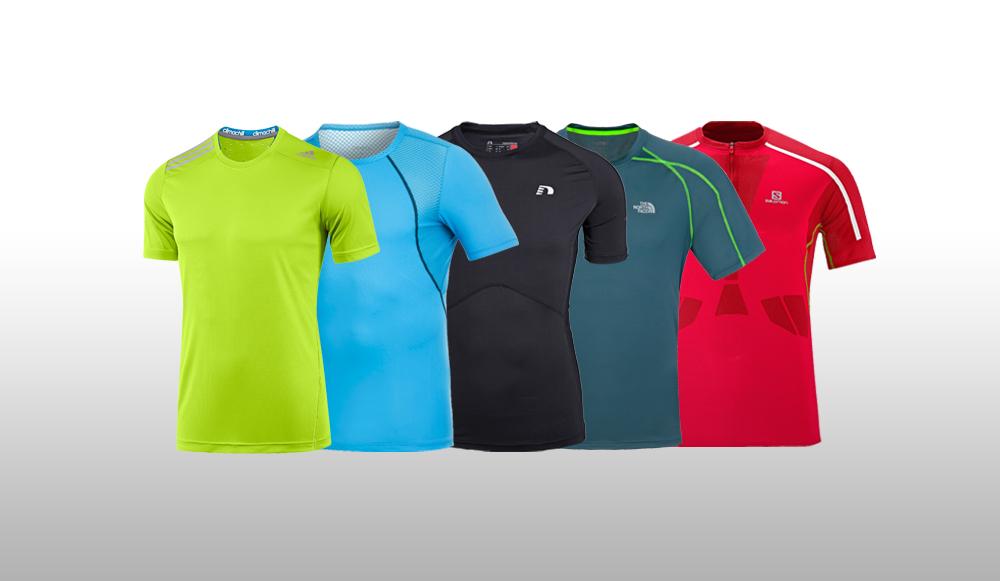 Løbe t shirts: Stor test af løbe t shirts 2014   Aktiv Træning