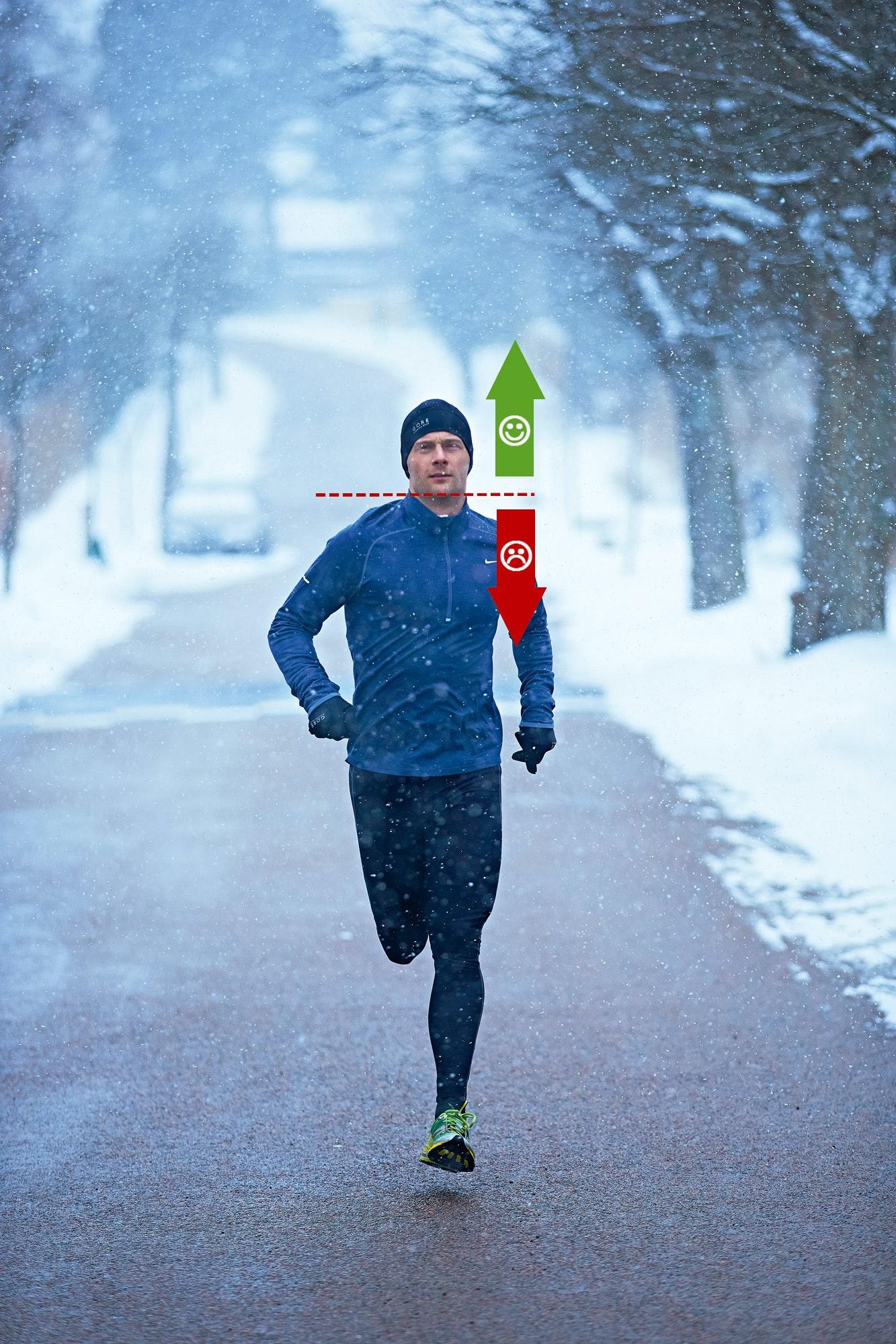 träna vid förkylning