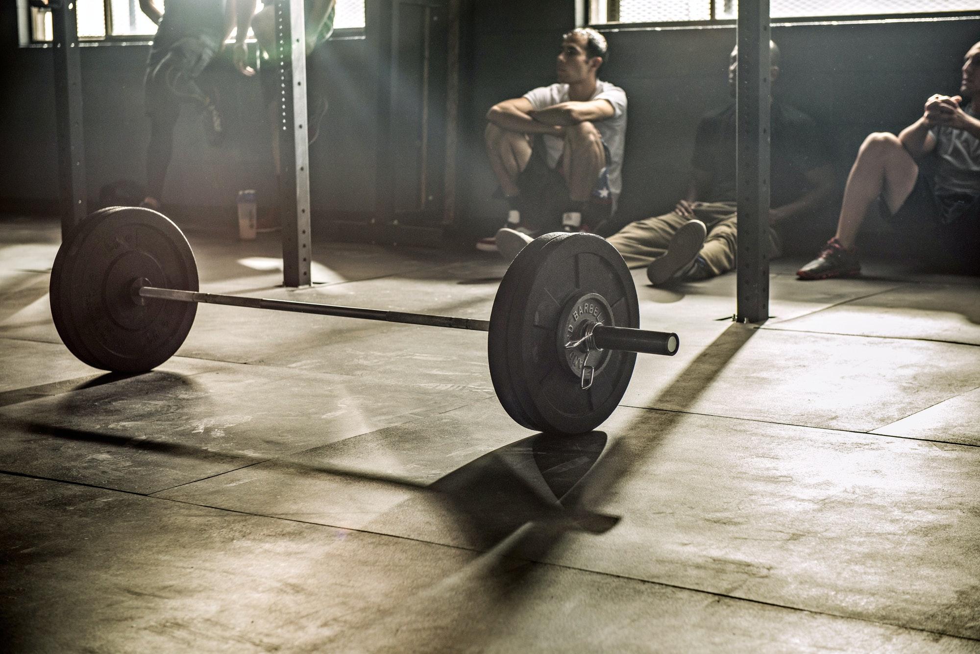 träning vila muskler