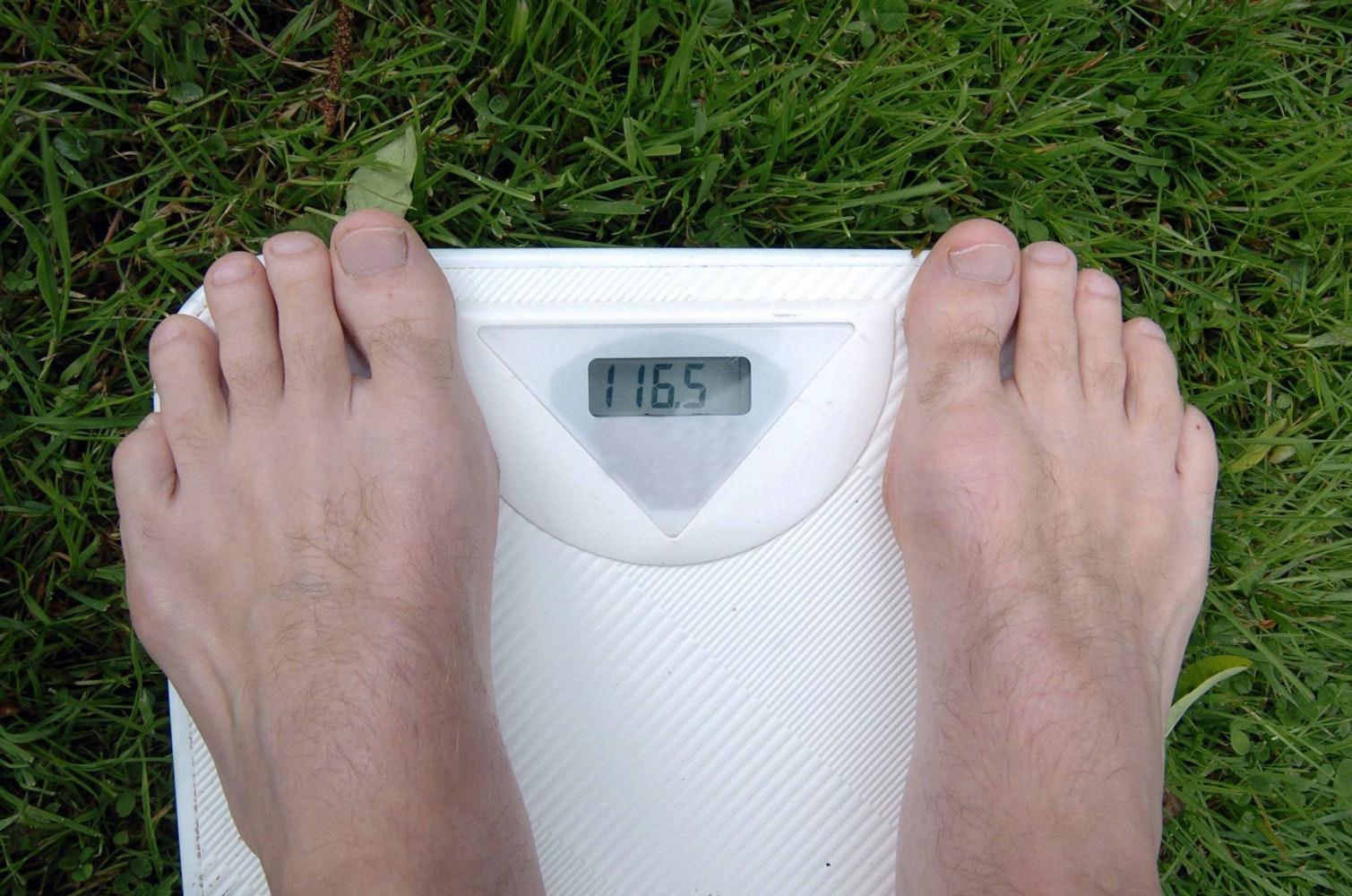 Gå ner de sista kilona