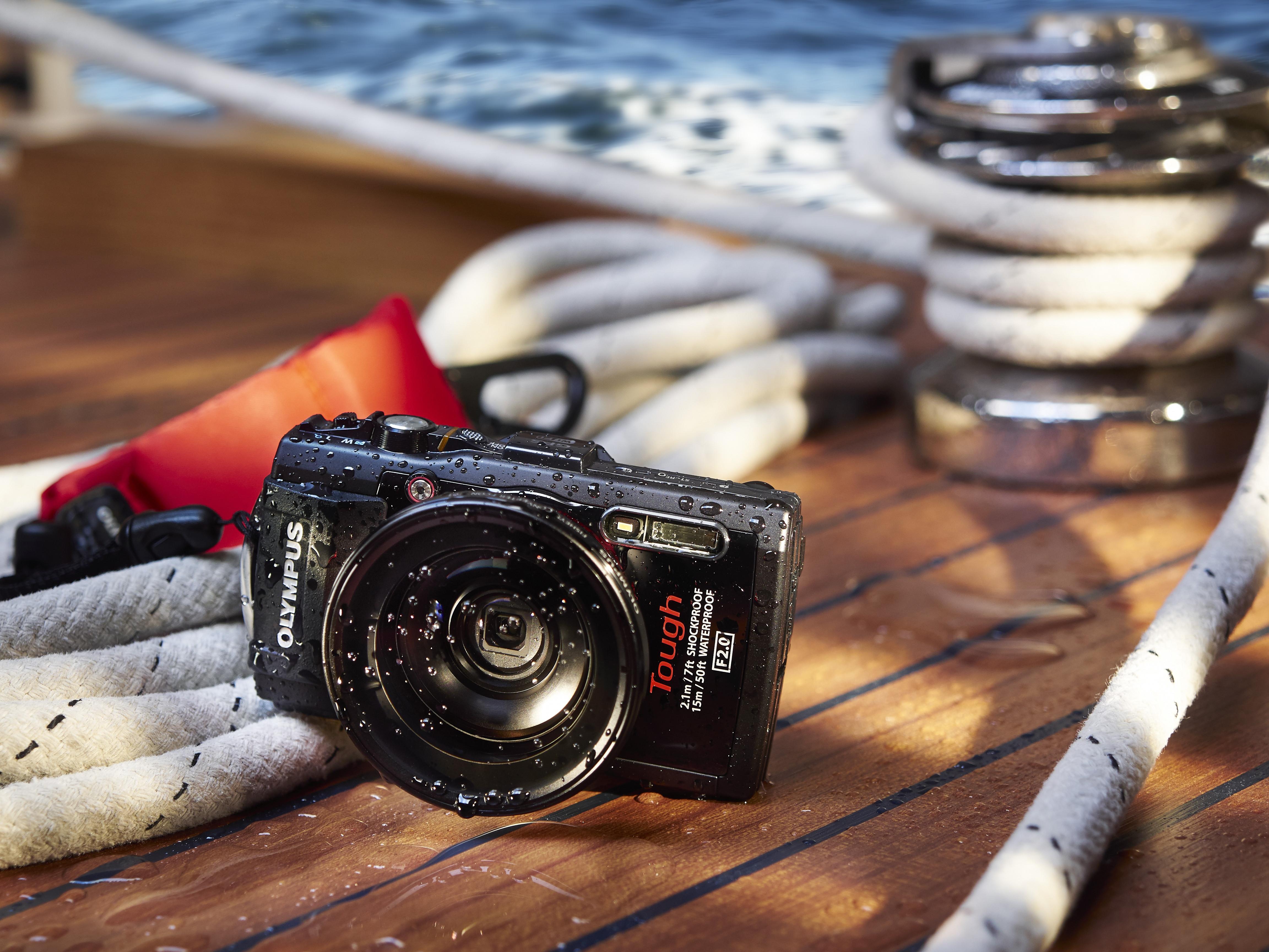Robusta kameror för stranden