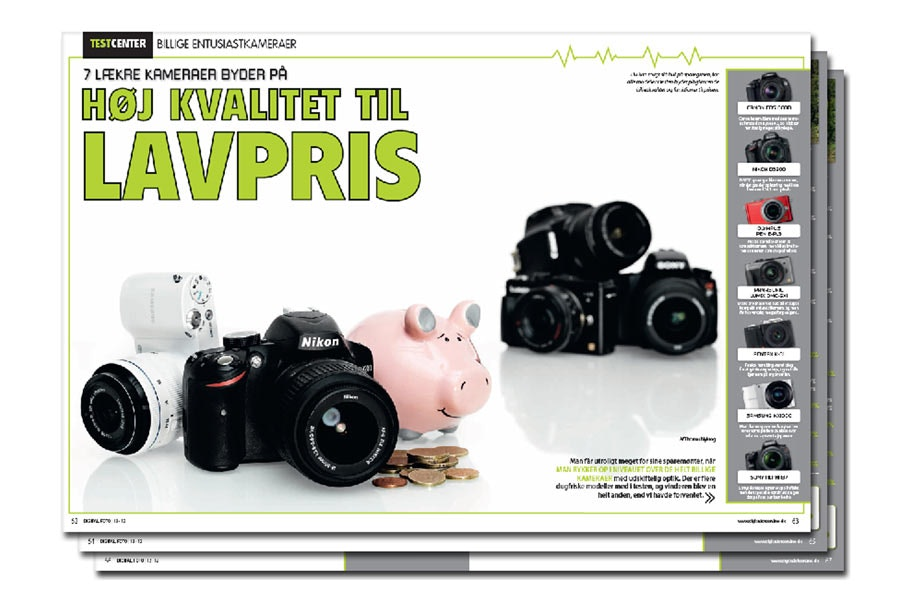 billige digitale kameraer