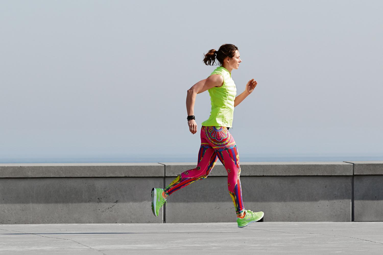snabb viktnedgång löpning