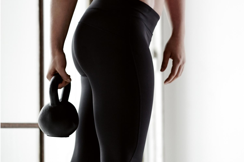 træning med kettlebell kvinder