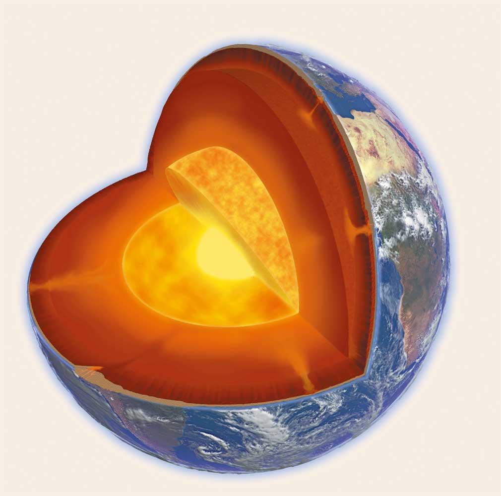 Waarom is de kern van de aarde heet - Van de ignum sanijura ...