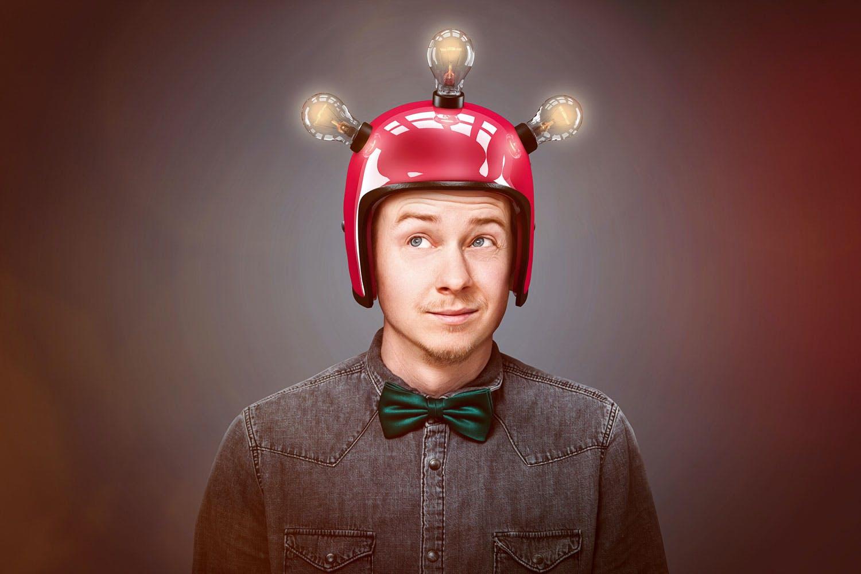 mennesket hjernen intelligens bandeord er tegn paa intelligens