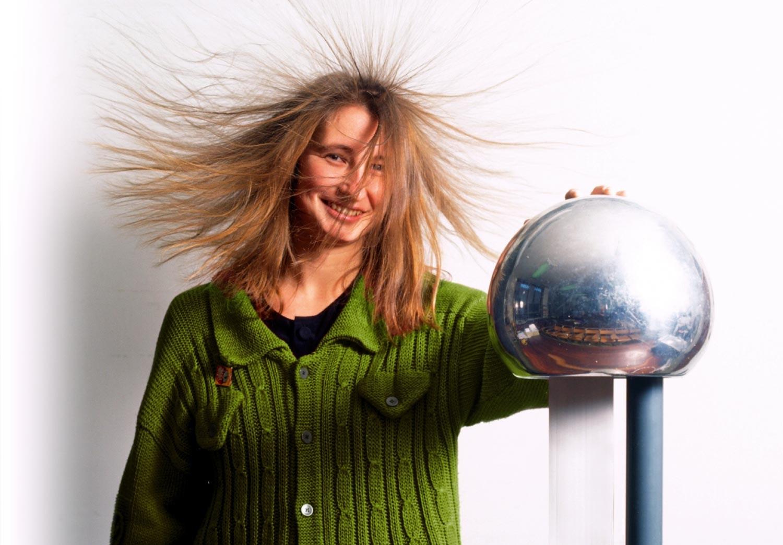 tøj der er statisk elektrisk