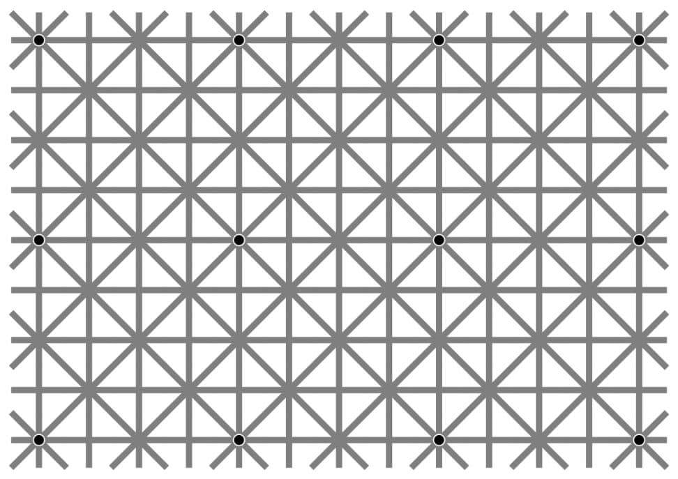 vita prickar i hjärnan