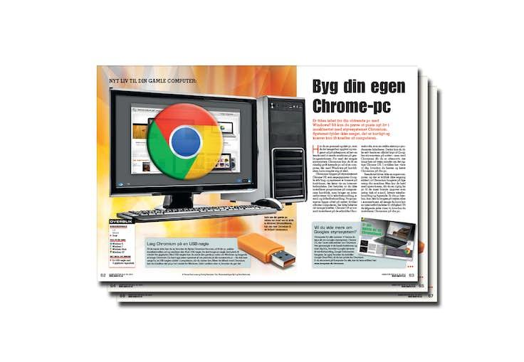 Byg Din Egen Chrome Pc Komputerdk