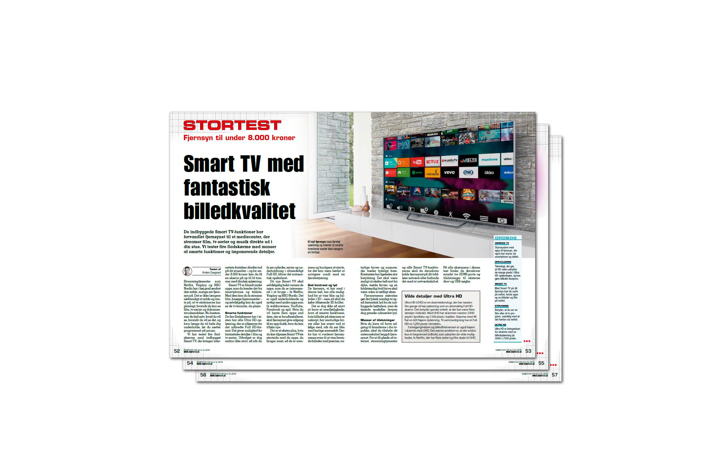 Smart TV med fantastisk billedkvalitet  d7ebd1790ee93