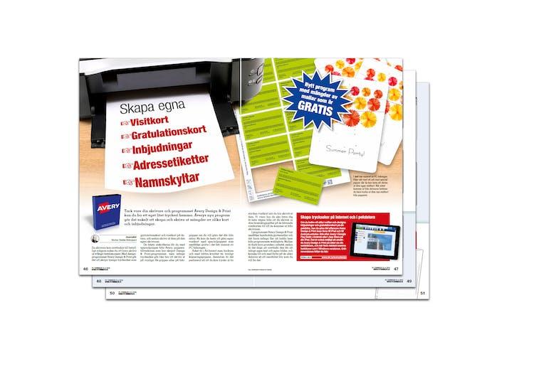 skapa egna gratulationskort Nytt program med mallar som är gratis | Pctidningen.se skapa egna gratulationskort