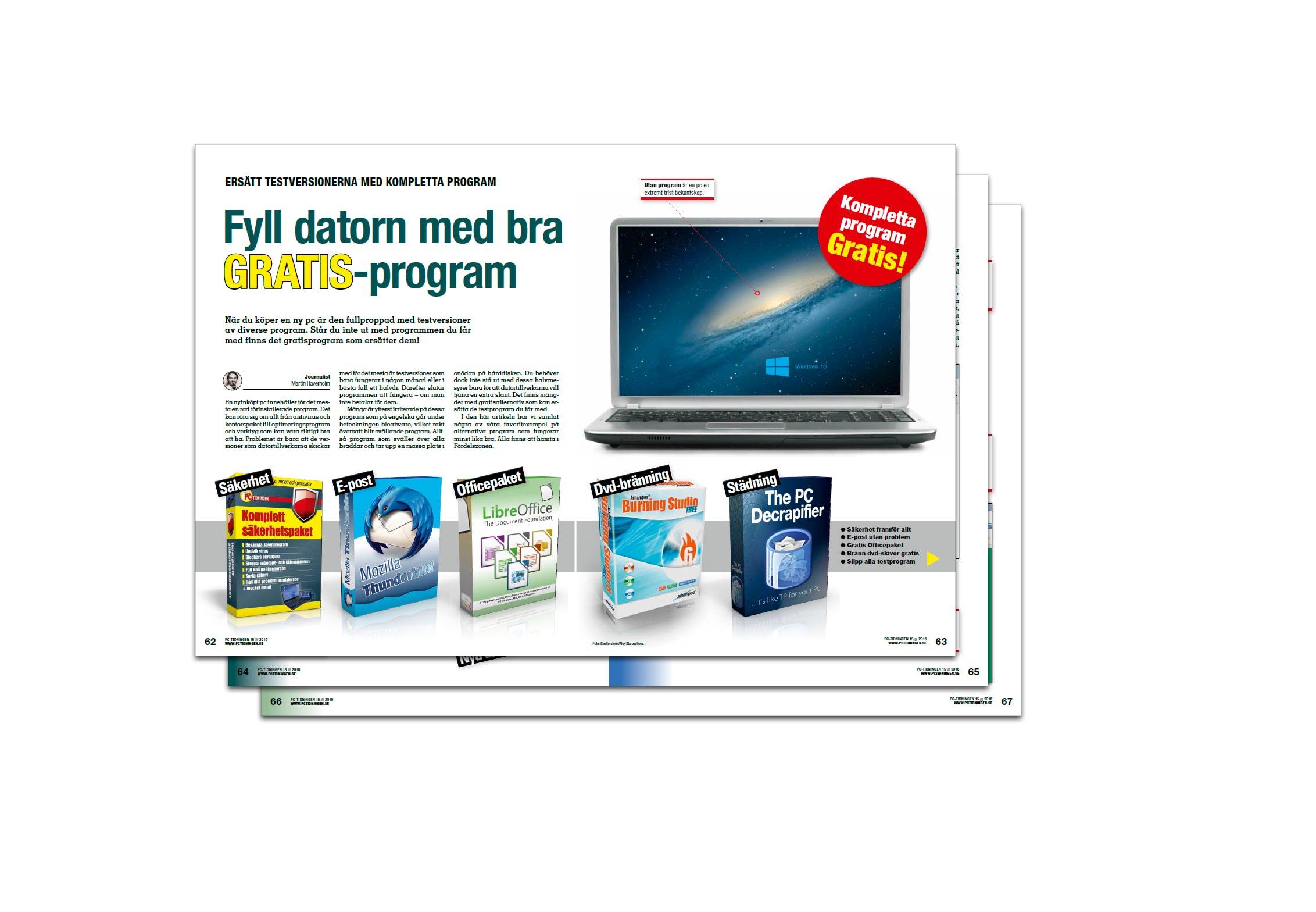 gratis optimeringsprogram