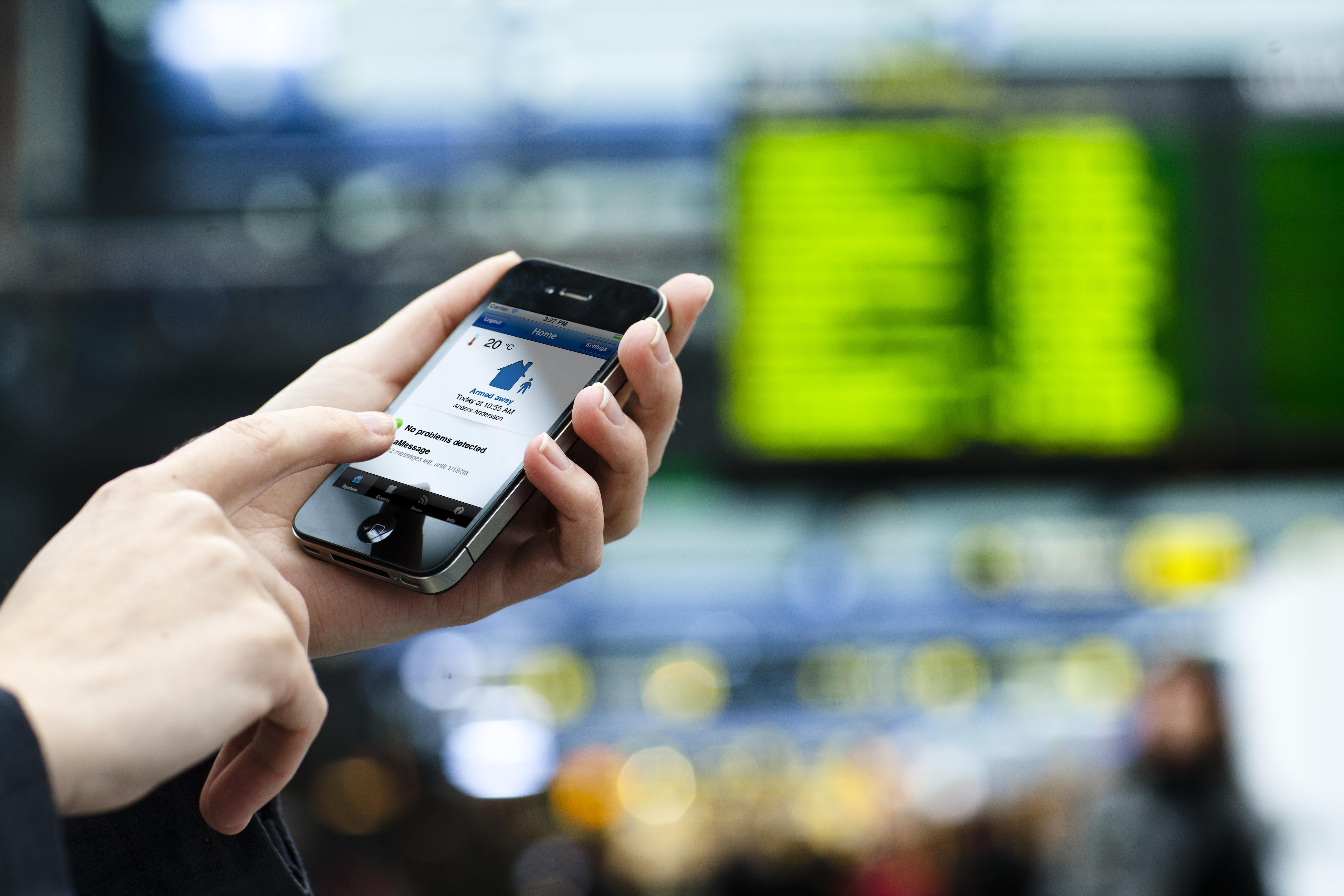 Mobiilisovellus valvoo kodin hälytyksiä | Kotimikro.fi