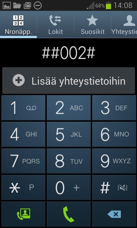 Android Soitonsiirto
