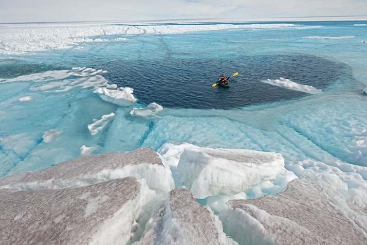 Varmen far svenska glaciarer att krympa