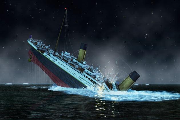 Titanic Hylky