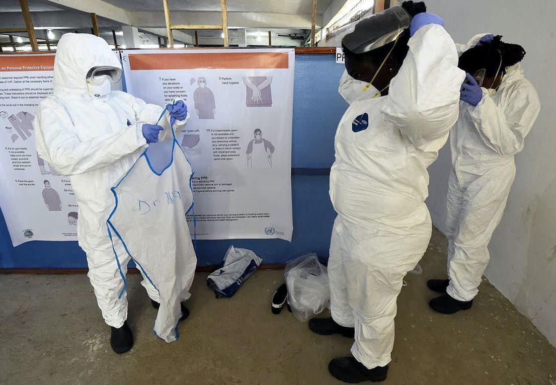 Viktiga frågor och svar om spridningen av ebolaviruset och