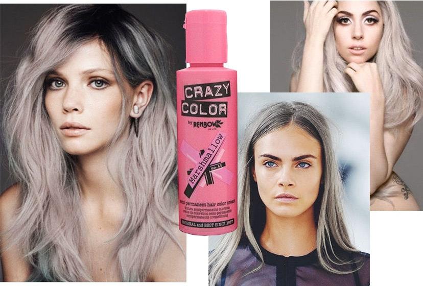 midlertidig hårfarge spray