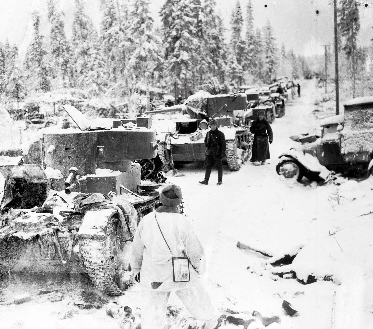 Talvisota: Puolustussota 40 pakkasasteessa | Historianet.fi