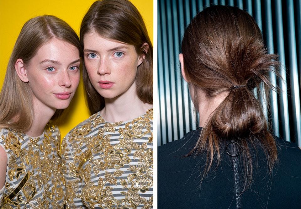frisyrer halvlangt hår drammen