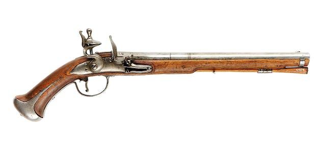 Pistola de chispa sueca de 1714