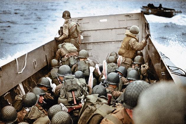 Soldaternas bilder av kriget