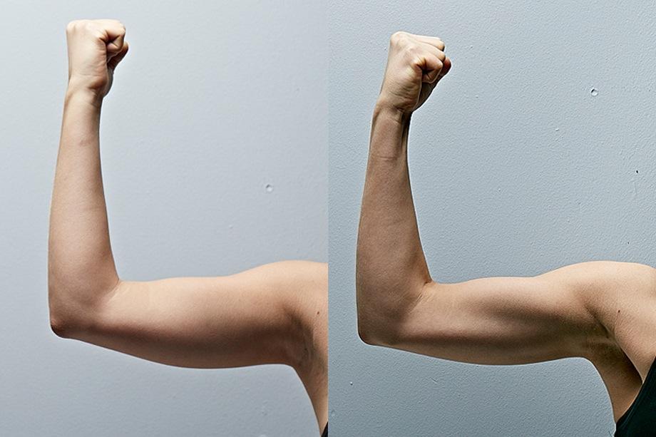 snygga armar på 4 veckor