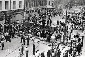 Folkstrejken barrikad norrebrogatan kopenhamn 1944 iuhszundqb57sjxnim91pw