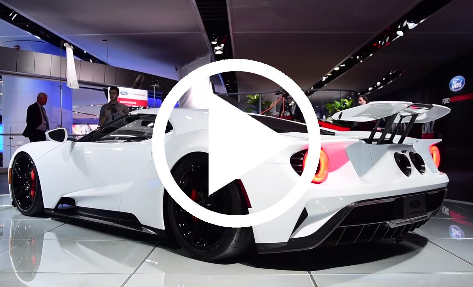 Det Er Helt Hypnotiserende At Se Ford Gt Ga I Race Mode Bilmagasinet Dk