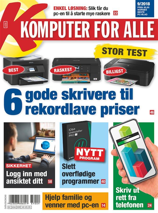 e1dde6cda Nytt blad: Finn den beste og billigste skriveren | Komputer.no