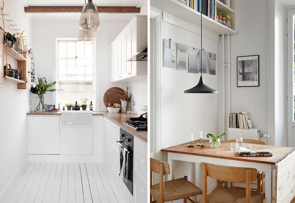10 små kjøkken med smarte løsninger  Boligpluss.no