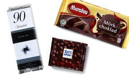 mörk choklad gravid