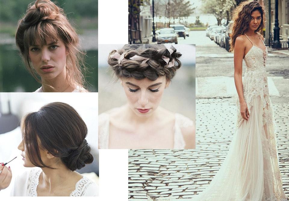 fine frisyrer til bryllup
