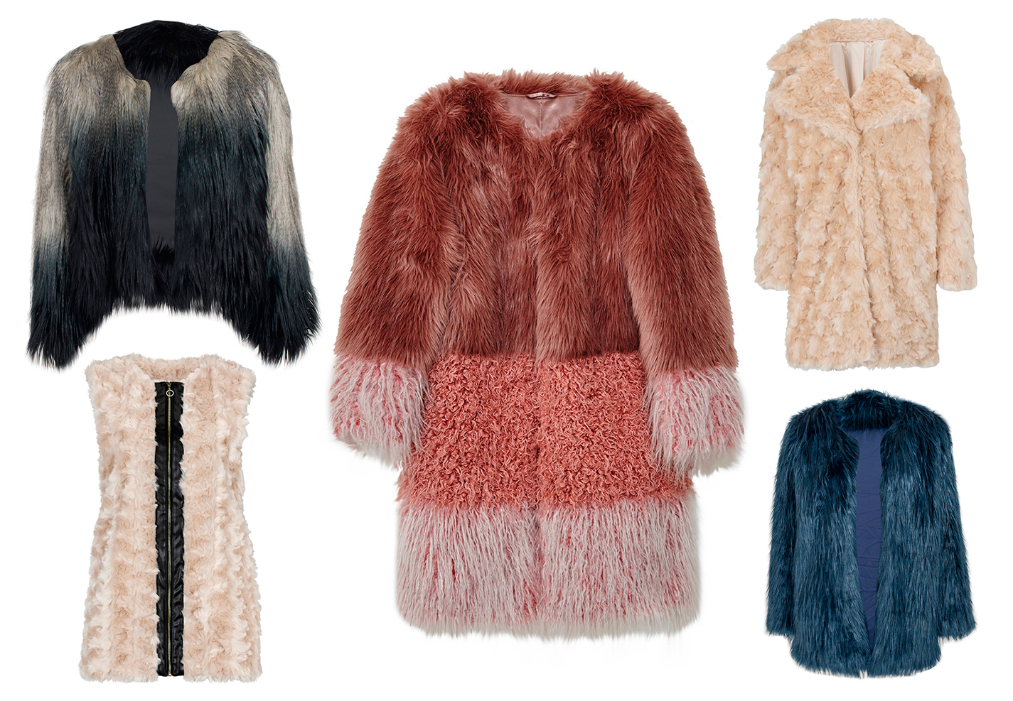 13 kåper og jakker i fuskepels | Tara.no