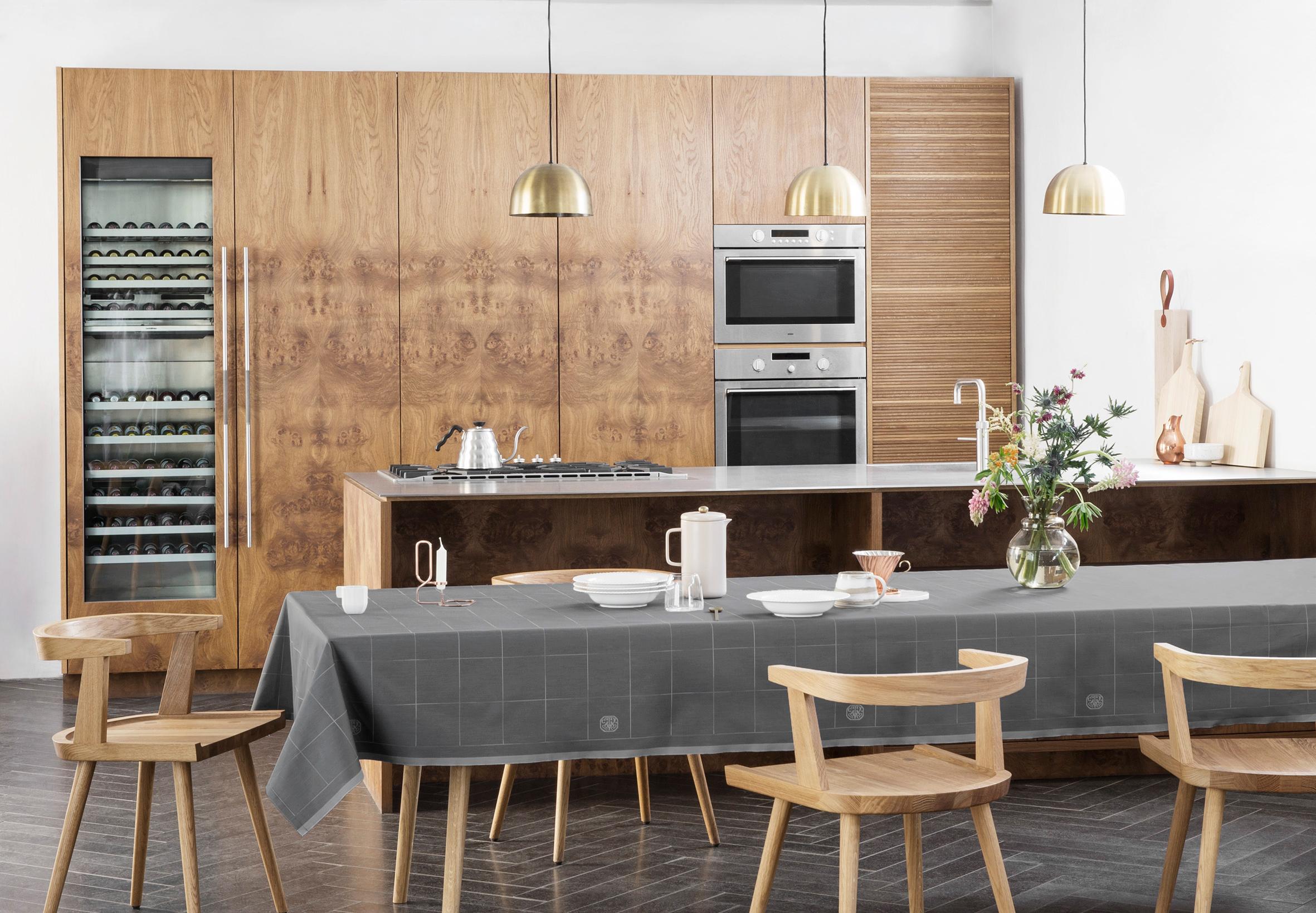 georg jensen damask og engesvik i k kkenet. Black Bedroom Furniture Sets. Home Design Ideas