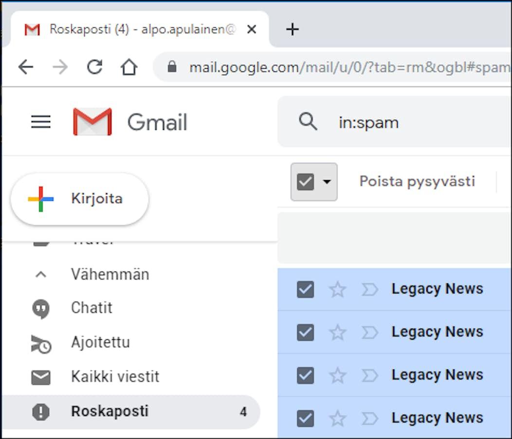 Gmail Sähköposti Kirjautuminen